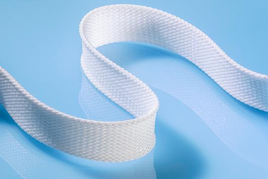 flat braid custom biomedical textile sample product cortland biomedical