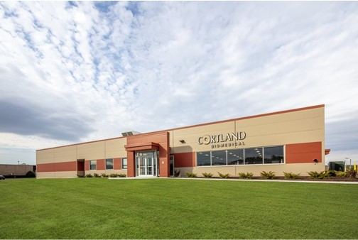 Cortland's ISO 13485:2016 -certified facility on Lime Hollow Rd. in Cortland, NY